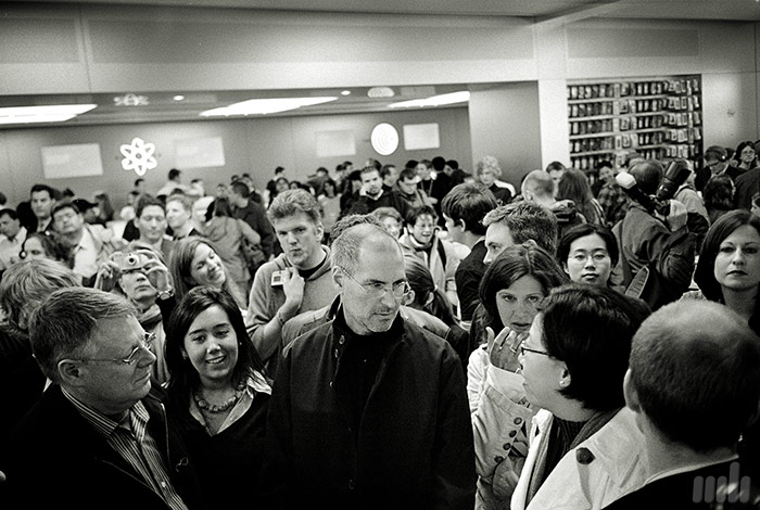 Steve Jobs, Apple Store 5th Ave, photography by Markus Hartel, New York