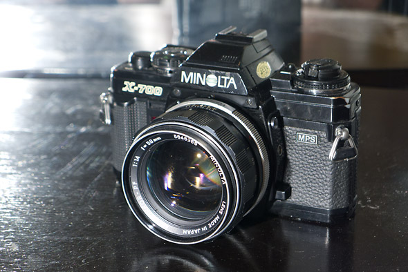 minolta x700 Street Photo Equipment