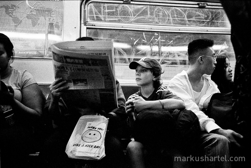 New York street photography by Markus Hartel