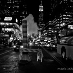 black-adn-white street photography by Markus Hartel, New York City