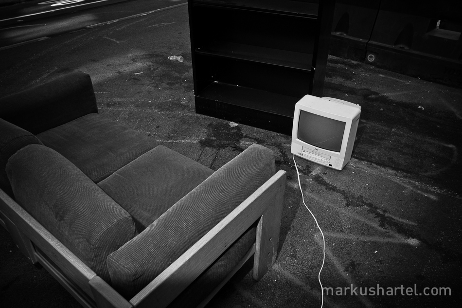 hartel black and white street photography
