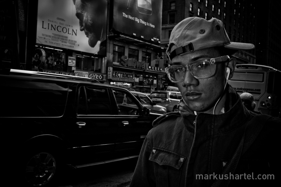 street photography by Markus Hartel, NYC