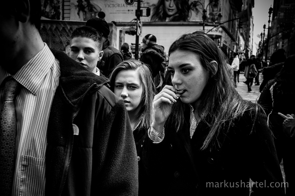 Markus Hartel street photography, New York City