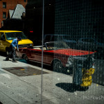 modern american color street photography by Markus Hartel, New York City