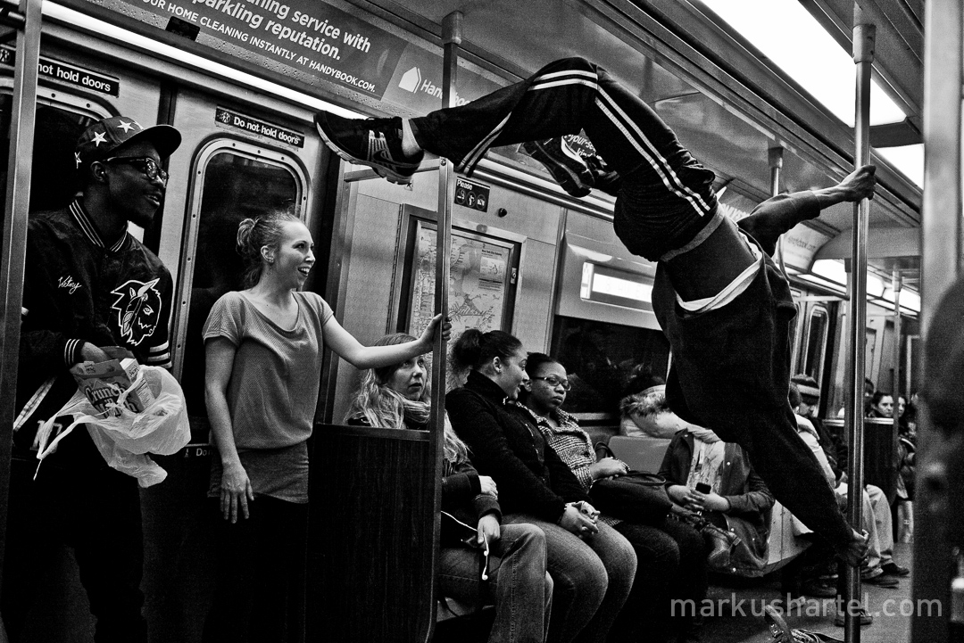 Seen on the A-train New York street photography