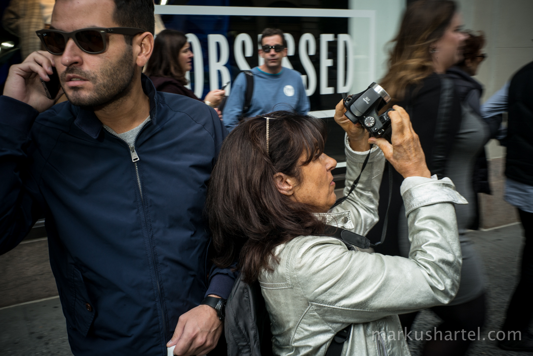 color street photography by Markus Hartel, New York City