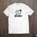 fotoleague flasher photography t-shirt
