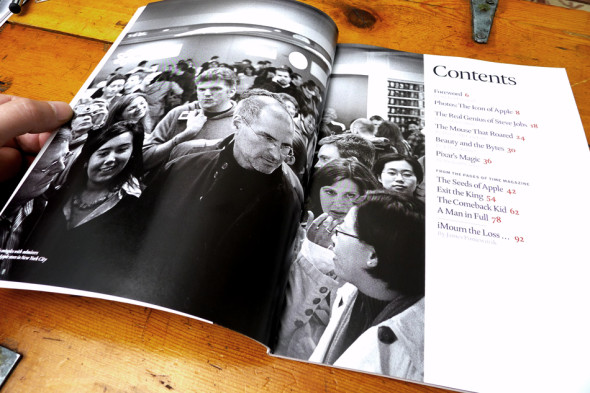 TIME Steve Jobs Commemorative Issue, photograph by Markus Hartel