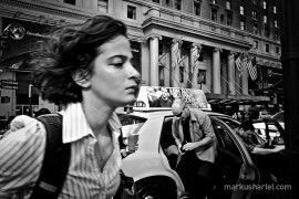 B.I. 7th Ave. - street photography by Markus Hartel, New York
