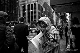 The Onion - street photography by Markus Hartel, New York