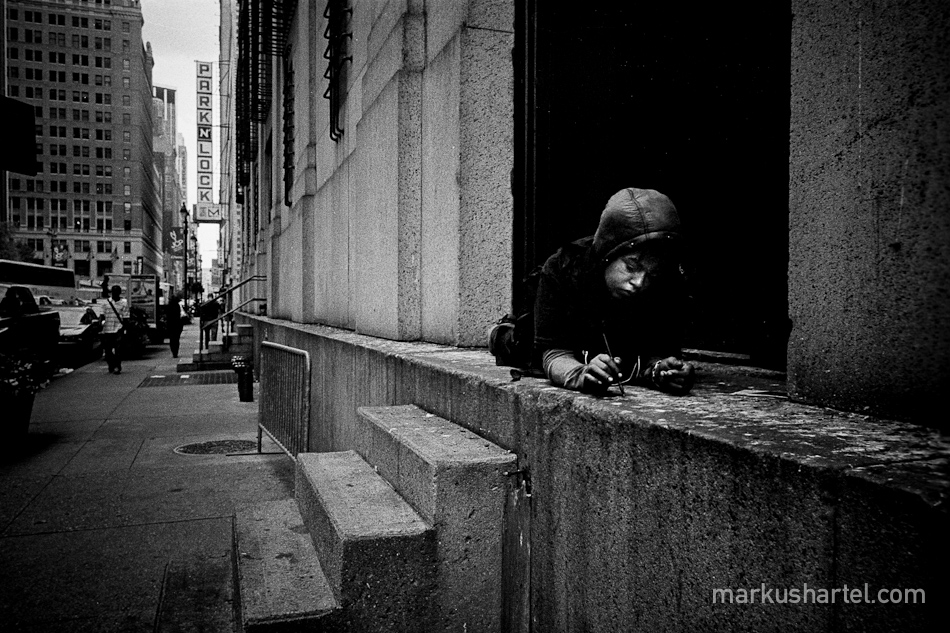 Scribble - street photography by Markus Hartel, New York