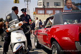 Mustang Sally - street photography by Markus Hartel, New York