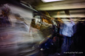 Motion Study 42nd St., street photography by Markus Hartel, New York