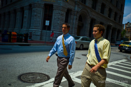 Ties - street photography by Markus Hartel, New York