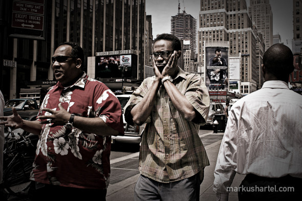 All About Hands - street photography by Markus Hartel, New York