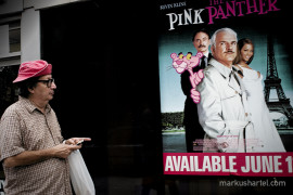 Pink Panther - street photography by Markus Hartel, New York