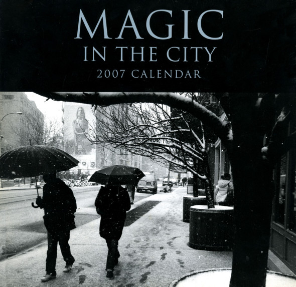 Magic in the City calendar 2007 - 8 pages