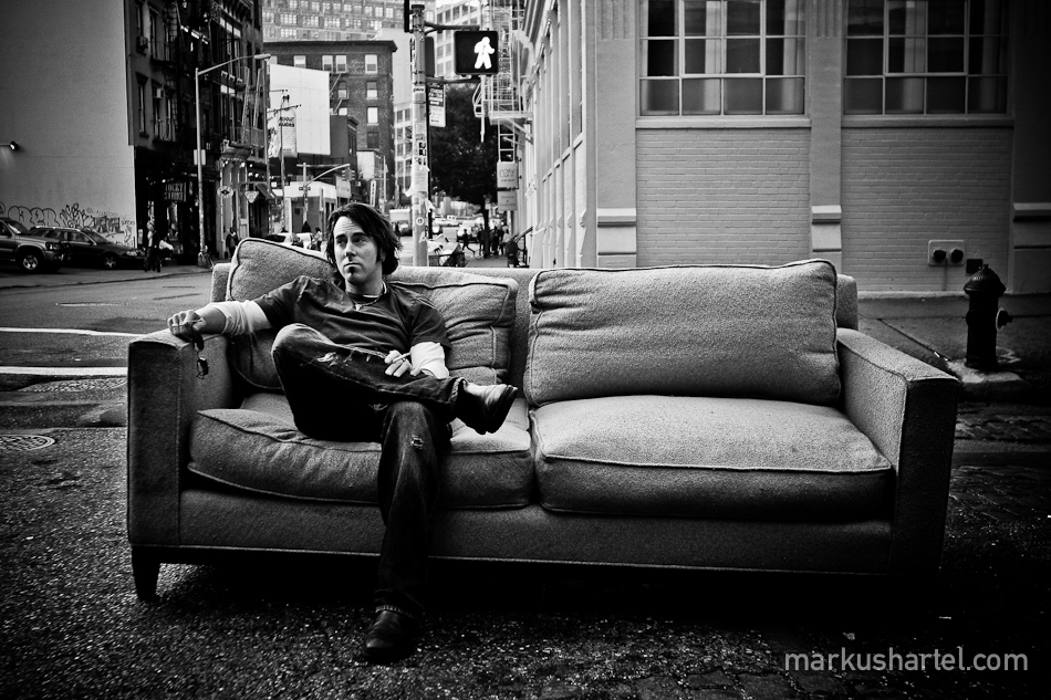 candid portrait photography by Markus Hartel, NYC