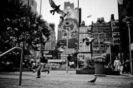 fine art black and white street photography by Markus Hartel, New York