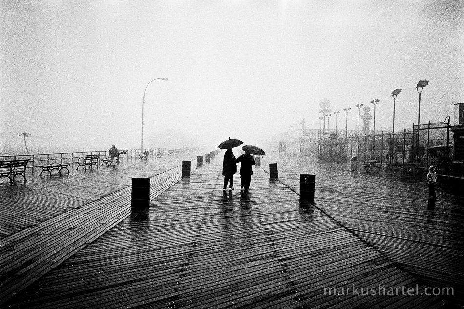 Boardwalk, Coney Island, New York City