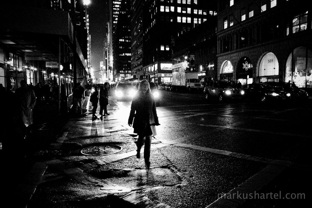 new york city at night street photography. Black Bedroom Furniture Sets. Home Design Ideas
