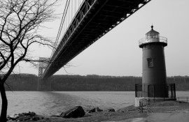 Little Red Lighthouse under the George Washington Bridge